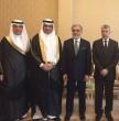 وزير التعيلم د. العيسى يلتقي الرئيس التنفيذي لجمهورية أفغانستان ووزيري التعليم والتعليم العالي