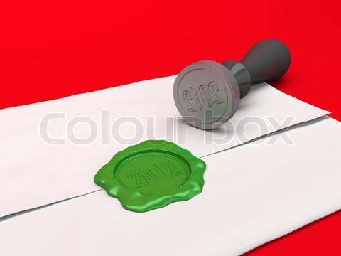 الاســـم:3129763-759138-the-letter-sealed-by-a-green-sealing-wax-stamp-a-new-year-s-illustration.jpg المشاهدات: 18 الحجـــم:50.9 كيلوبايت